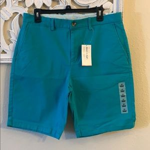 NWT Men's Old Navy Teal Flat Front Shorts